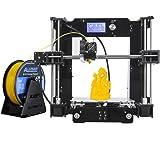 [ALUNAR] Reprap Prusa i3 3Dプリンター DIYキット未組立 M506ブラック 最大印刷サイズ220 * 220 * 230mm 組立て動画SDカード同梱