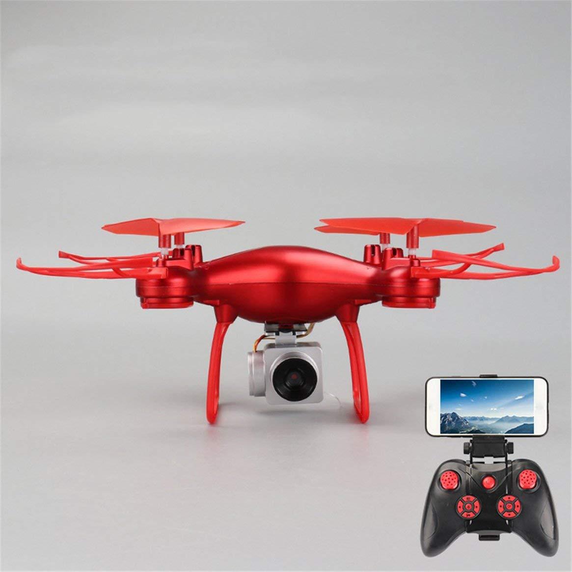 Delicacydex 008 Smart Selfie RC Quadrocopter-Drohne mit 720P-Live-Video-HD-Kamera Höhenstand Headless-Modus One Key Take-Off RTF - Weiß