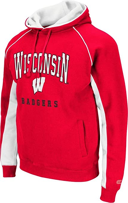 cc724ea7f49d Amazon.com   University of Wisconsin Badgers Men s Crest Pullover ...