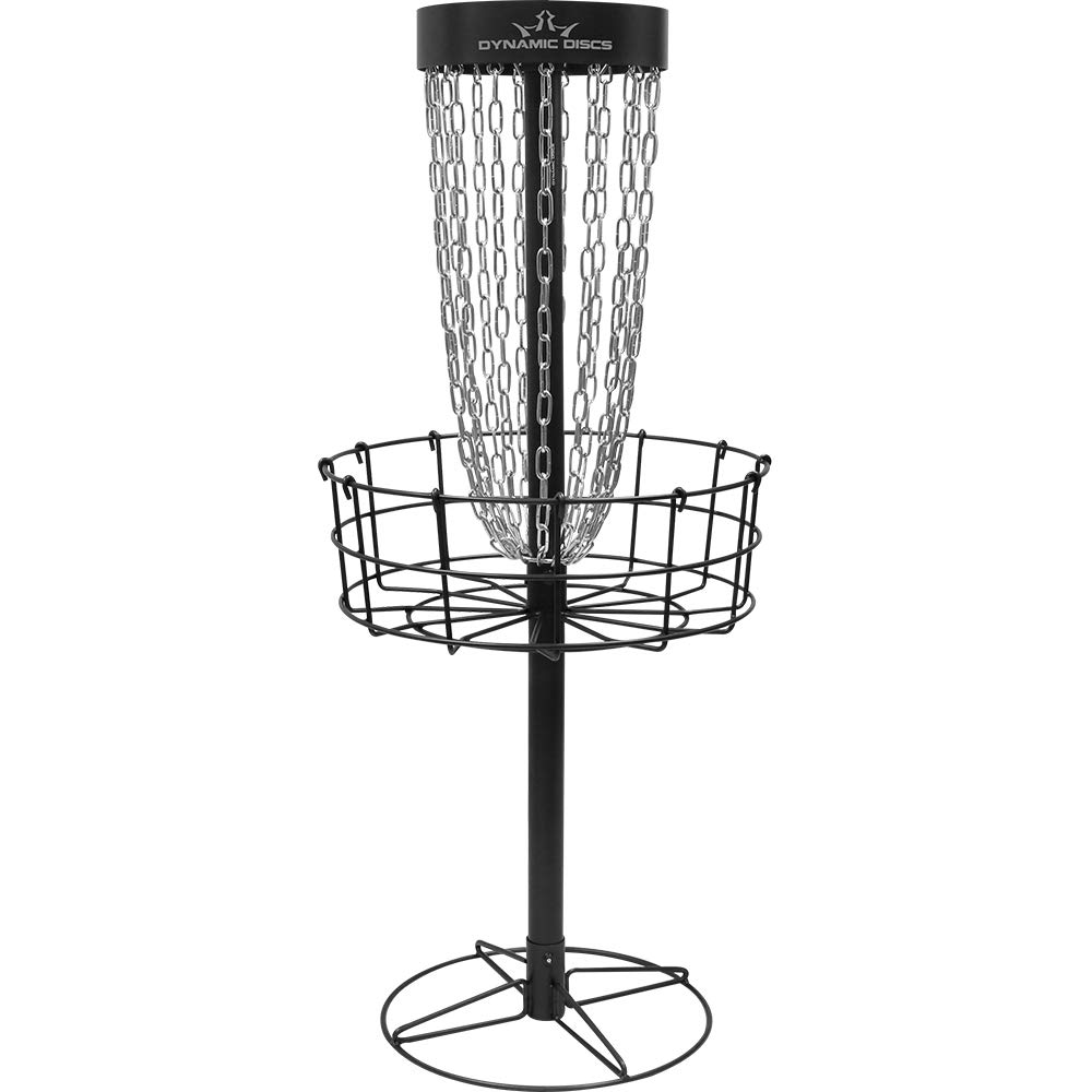 Dynamic Discs Marksman Portable Disc Golf Basket | 15-Chain Disc Golf Target | Lightweight Frisbee Golf Target for Easy Mobility | Tension Screws for Increased Stability | Precision Disc Golf Target by D·D DYNAMIC DISCS