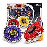 battle masters arena - BXE New Bey Battling Blades Toy Metal Master Fight Fusion Constellation Battle Battling Top With 4D Launcher Grip Set and Arena Included