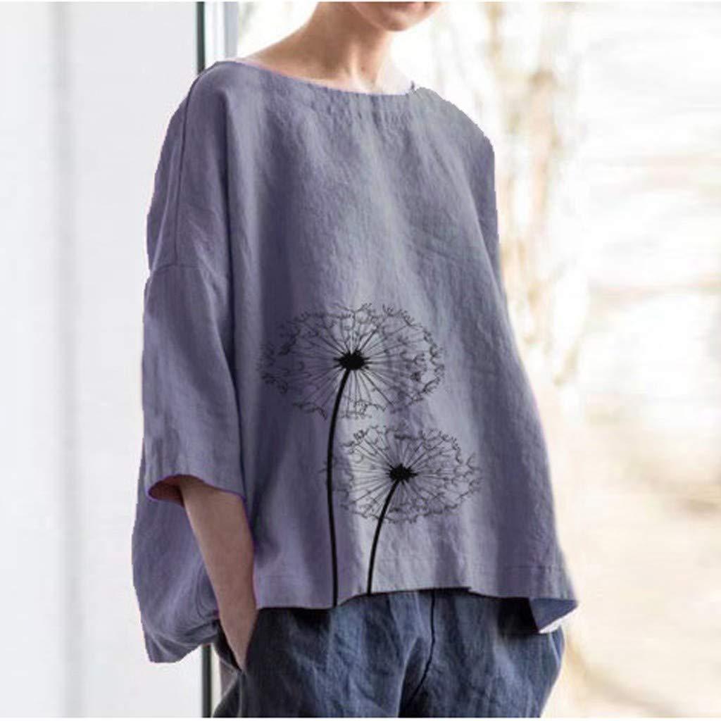 Alaso - Camisa de Manga Larga para Mujer, diseño Vintage Informal ...