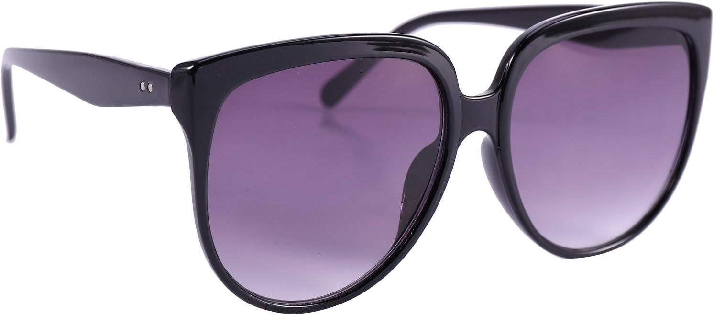 Nero Viola SODIAL Occhiale da Sole Donna retr/ò Occhiali da Sole Oversize Donna Cateye Eyewear Occhiali da Sole con Montatura Grande