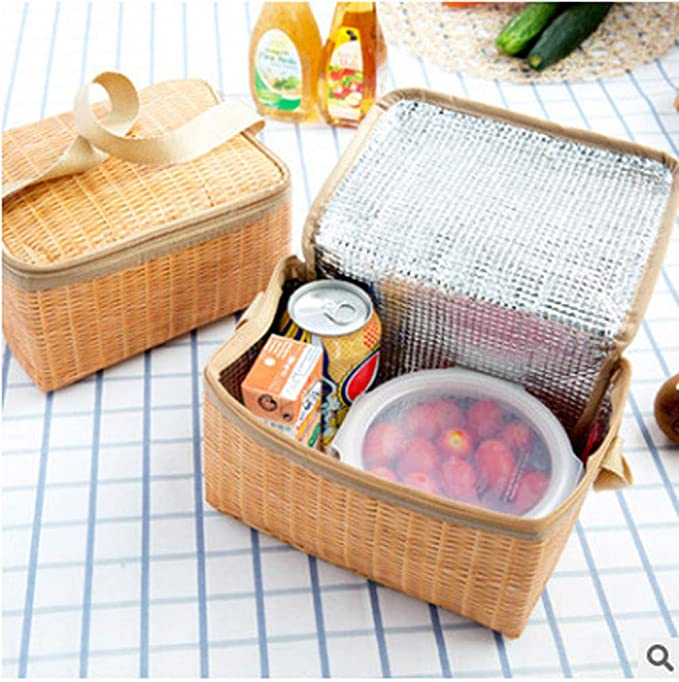 b47d3d504c74 Amazon.com: ❤Ywoow❤ Packet , Lunch Box Thermal Insulated Tote ...