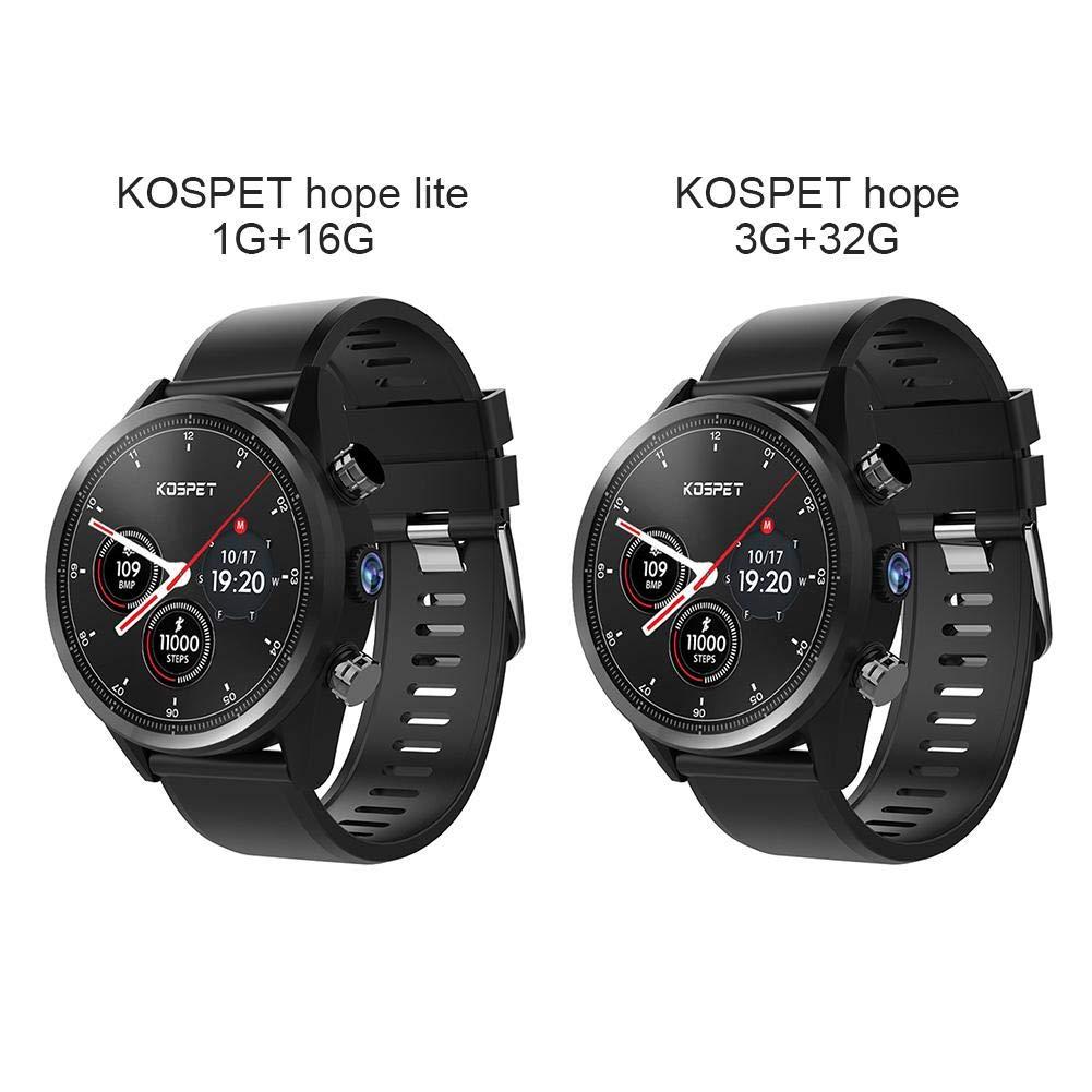 Opfury Kospet Hope Lite Reloj Inteligente multifunción 4G ...
