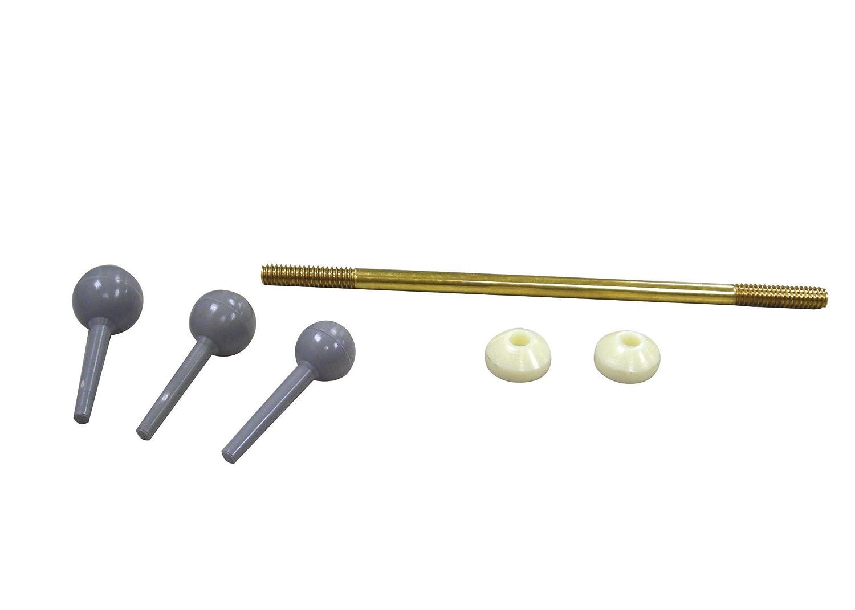 Danco 88532 Universal Fit Pop-Up Drain Ball Rod Assembly, Brass
