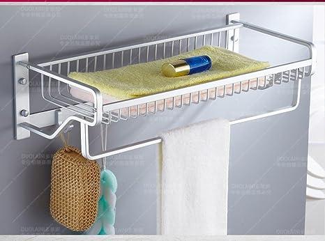 Toallero Perchero de baño montado en la Pared - estantería ...