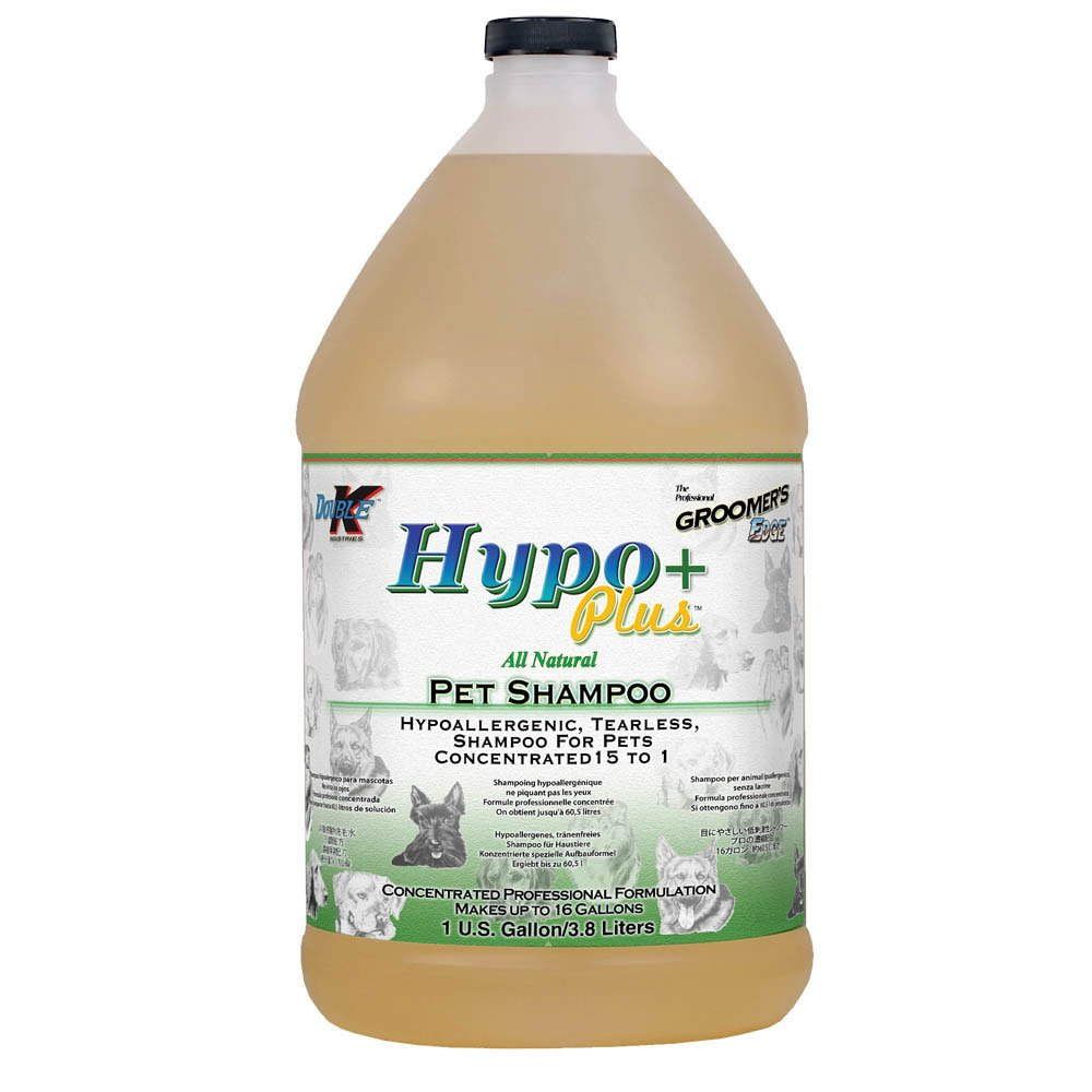 Double K Industries Groomers Edge Hypo+ Allergenic Shampoo Gallon by Groomers Edge