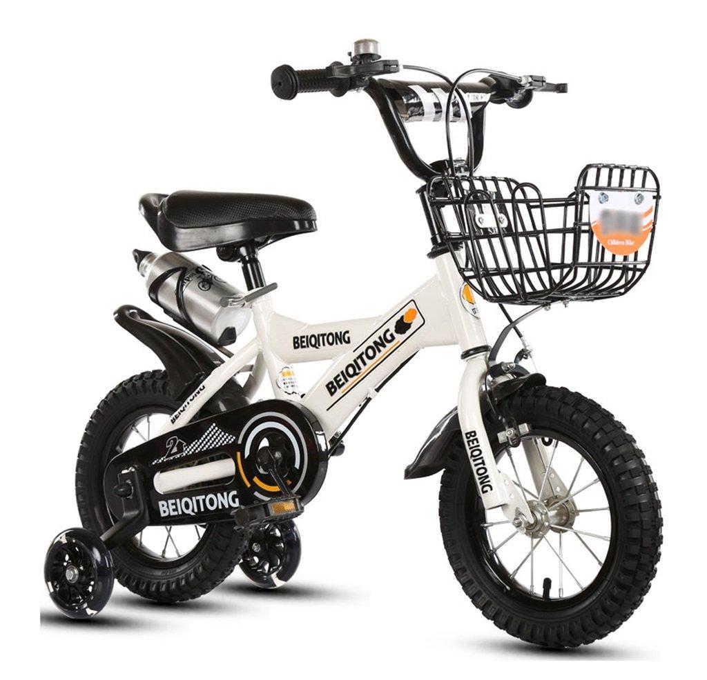 子供の自転車12 B078JJJ21B 白 20 inches