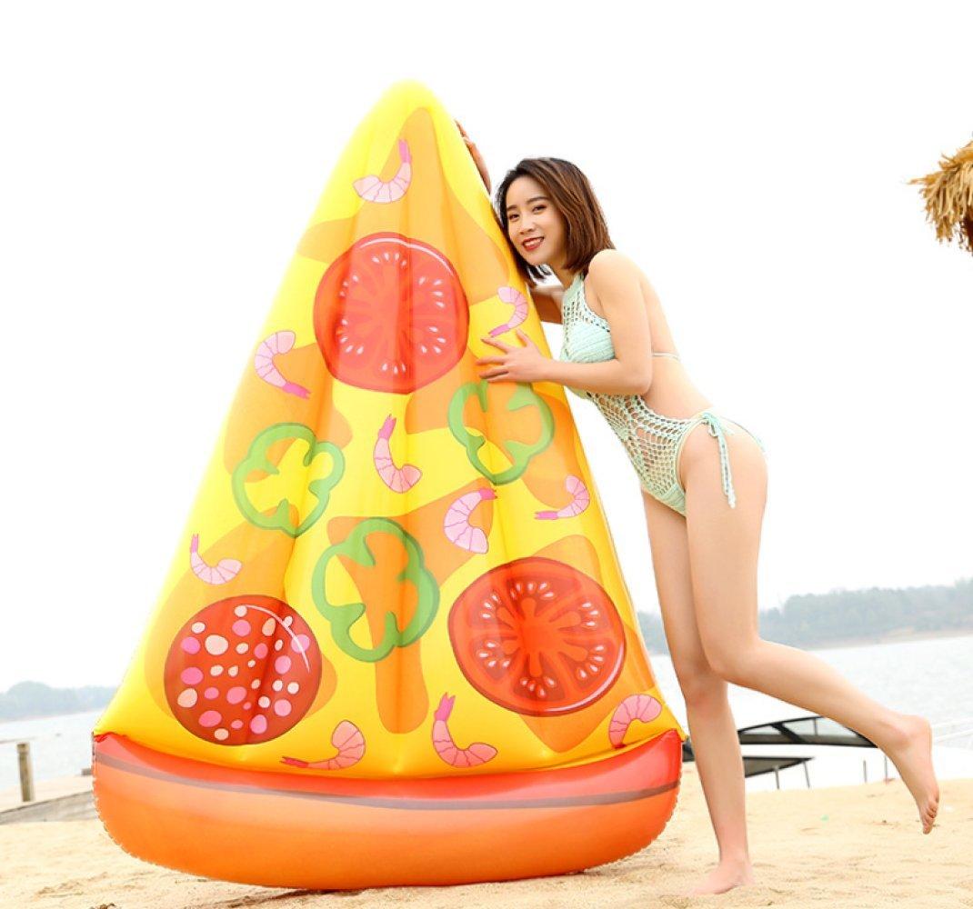 Piscina Natación Anillo Flotador De La Piscina - Personalidad Creativa Pizza Flotadores Gigantes Flotador Inflable Anillo De La Natación Cojín De Aire Ayuda ...