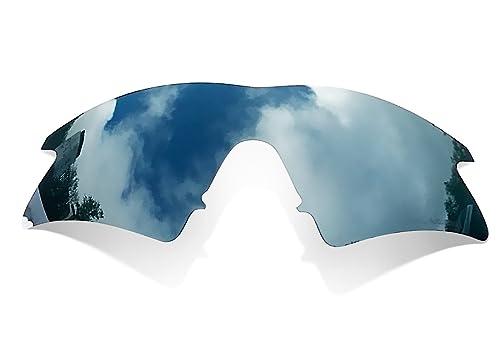 Sunglasses Restorer Lentes Polarizadas Color Titanio para Oakley M Frame Sweep