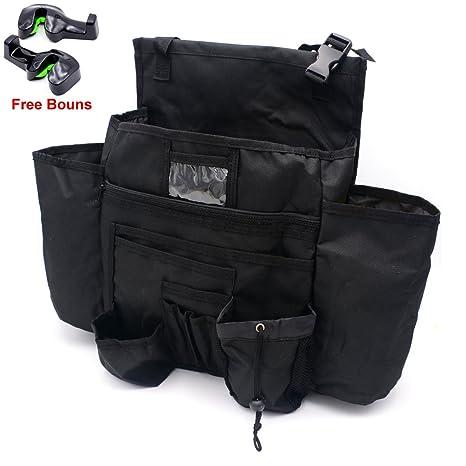 HAOTOM Car Front Seat Organizer Passenger Storage Bag For