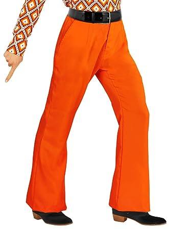 moderate Kosten angenehmes Gefühl beste Wahl Karneval-Klamotten Hippie Hose Herren Kostüm orange Flower ...