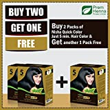 """Nisha Quick Color-60g """" Buy Two & Get One Free """""""