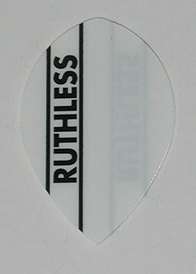 Black 5 Packets of Brand New Ruthless Extra Strong Darts Flights