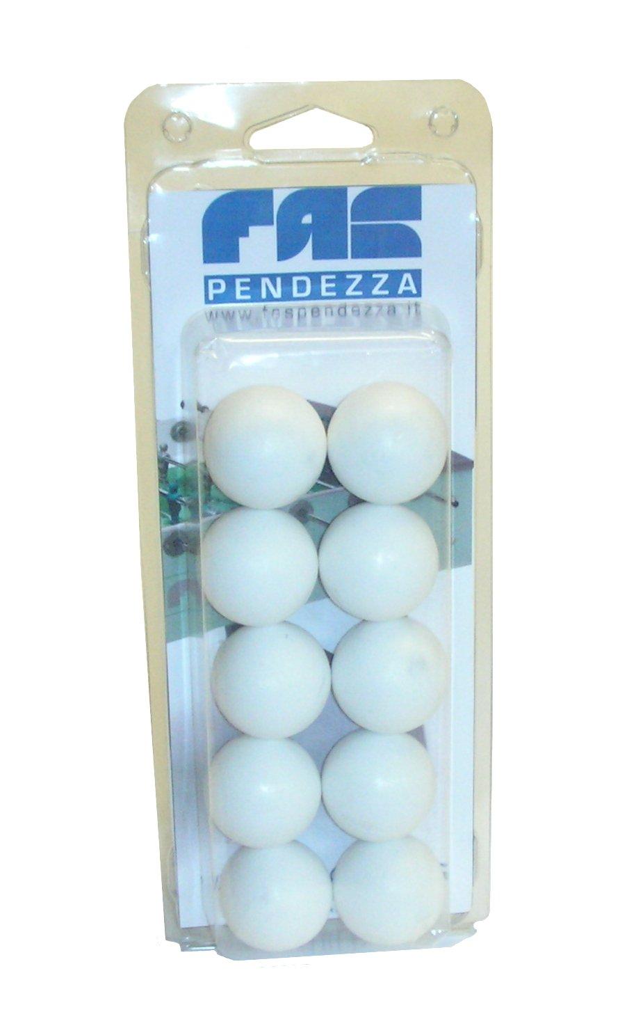 Blister 10 palline calcio balilla FAS - GA19BLI No name