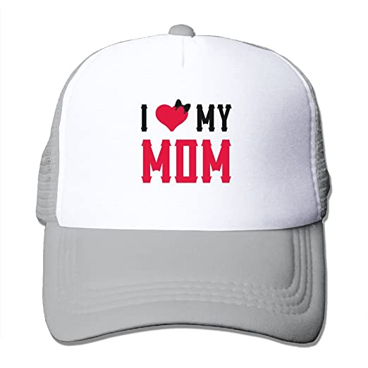 d74ea431c MarthaStill I Love My Mom Mesh Male Tactical Trucker Baseball Hat at ...
