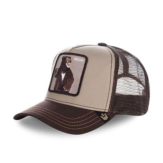 939716e408c7 Goorin Bros Casquette Baseball Homme Ours Lonestar - Marron - Taille Taille  unique