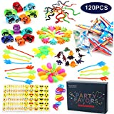 Amy & Benton 120PCS Prize Box Toys for Classroom Pinata Filler Toys for Kids Birthday Party Assorted Carnival Prizes for Boys and Girls Treasure Chest/Box Prizes for Teacher