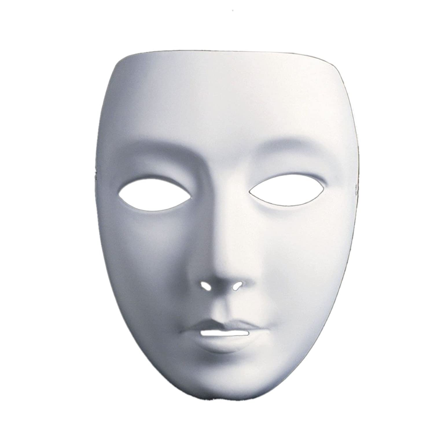 Amazon.com: Aszune Full Face Theater Mask, DIY Masquereade Mask For Party, Weddings, DIY Mardi Gras, Cosplay Costume, Anonymous Venetian Carnival Mask and ...