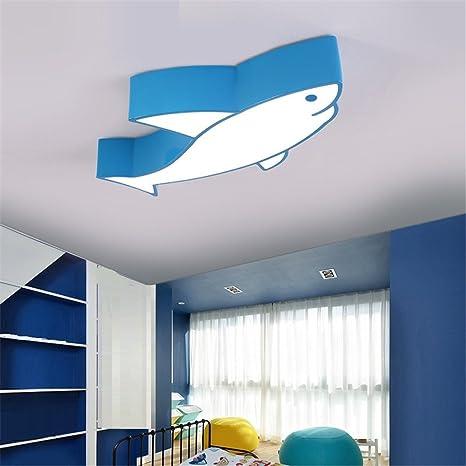 CHLIGHT 60 CM sala de niños luces de techo azules creativas ...