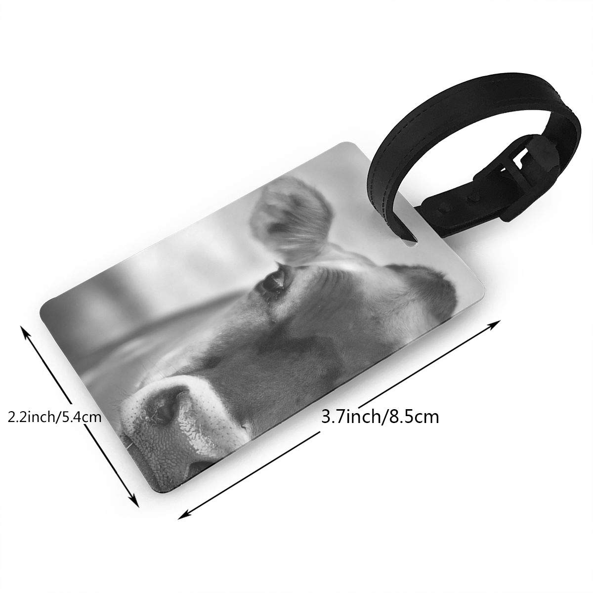 Cow Handbag Tag For Travel Tags Accessories 2 Pack Luggage Tags