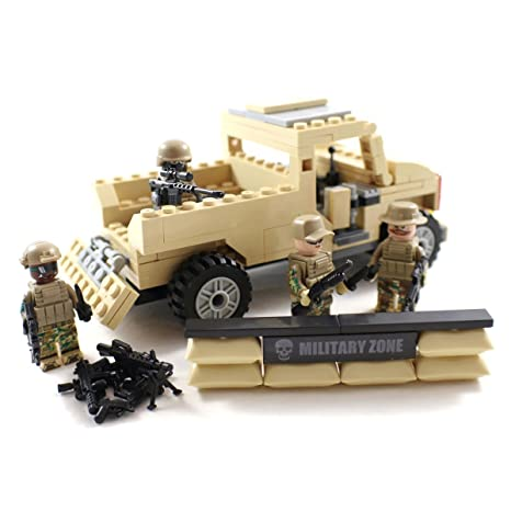 Amazon.com: Desert Army Pickup Truck and US Marines - Military ...