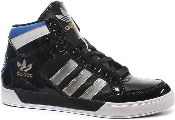adidas Originals Hard Court Hi Noir Bleu Blanc Homme Chaussure Mode