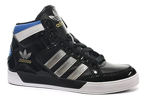 free shipping 2ce82 bf2f1 Adidas Originals HARD COURT HI Negro Azul Blanco Hombre Zapatillas   Amazon.es  Zapatos y complementos