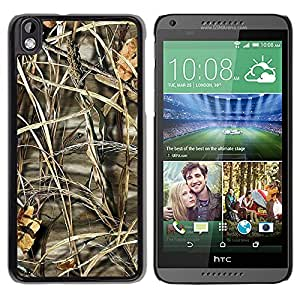 Paccase / SLIM PC / Aliminium Casa Carcasa Funda Case Cover - Nature Beautiful Forrest Green 192 - HTC DESIRE 816