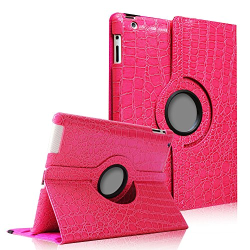 Fintie 360 Degree Rotating Stand Smart Cover PU Leather Case