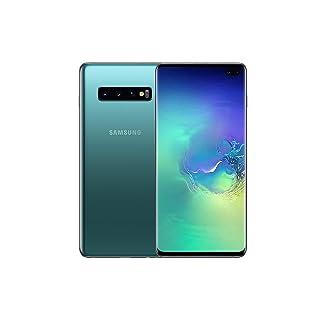 Samsung Galaxy S10+ Plus 128GB / 8GB RAM SM-G975F Hybrid/Dual-SIM (GSM Only, No CDMA) Factory Unlocked 4G/LTE Smartphone - International Version (Prism Green, 128GB)
