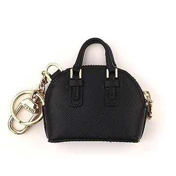 Amazon.com: LBX Keychain Black Small Shell Bag Pendant ...