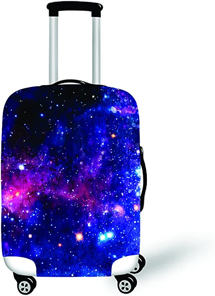 XL, XLXT13 Daoyiqi 18//20//22//24//26//28//30//32 Inch Personalized Elastic Polyester Travel Luggage Covers Protector