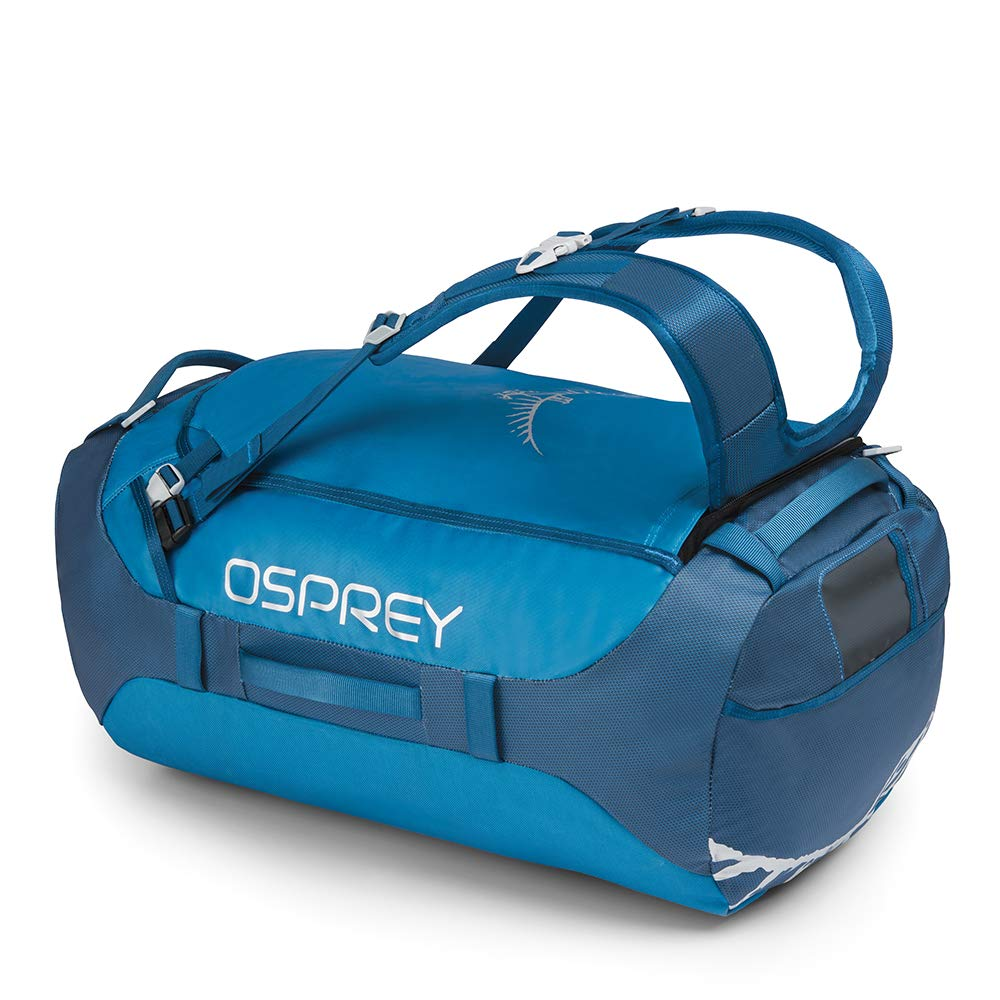 Osprey Packs Transporter 65 Expedition Duffel, Kingfisher Blue, One Size