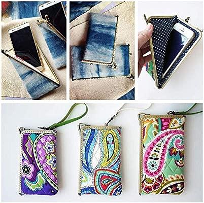 RUBY-2 piezas Boquillas para bolsos y monederos Boquilla para fundas de móvil Cierre de boquilla para bolso Cierre monederos boquilla de bolso para ...