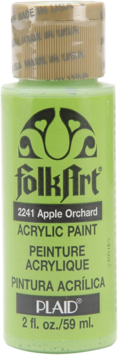 FolkArt Acrylic Paint in Assorted Colors (2 oz), 2241, Apple Orchard