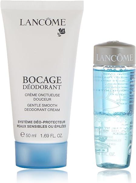 Lancôme CLA89602 Set Bocage Desodorante en Crema + Desmaquillante - 1 Pack: Amazon.es: Belleza