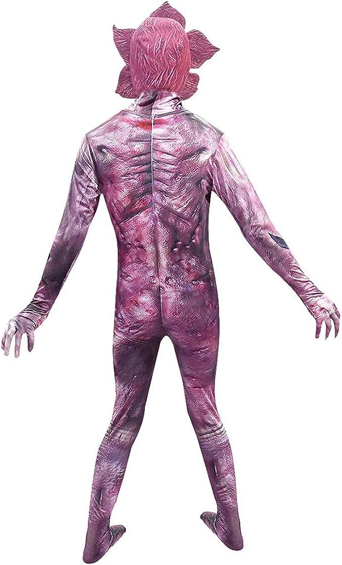 Disfraz de Demogorgon para Niños Adulto Hombre Stranger Things Demogorgon Traje Halloween Cosplay Costume con Máscara: Amazon.es: Ropa y accesorios