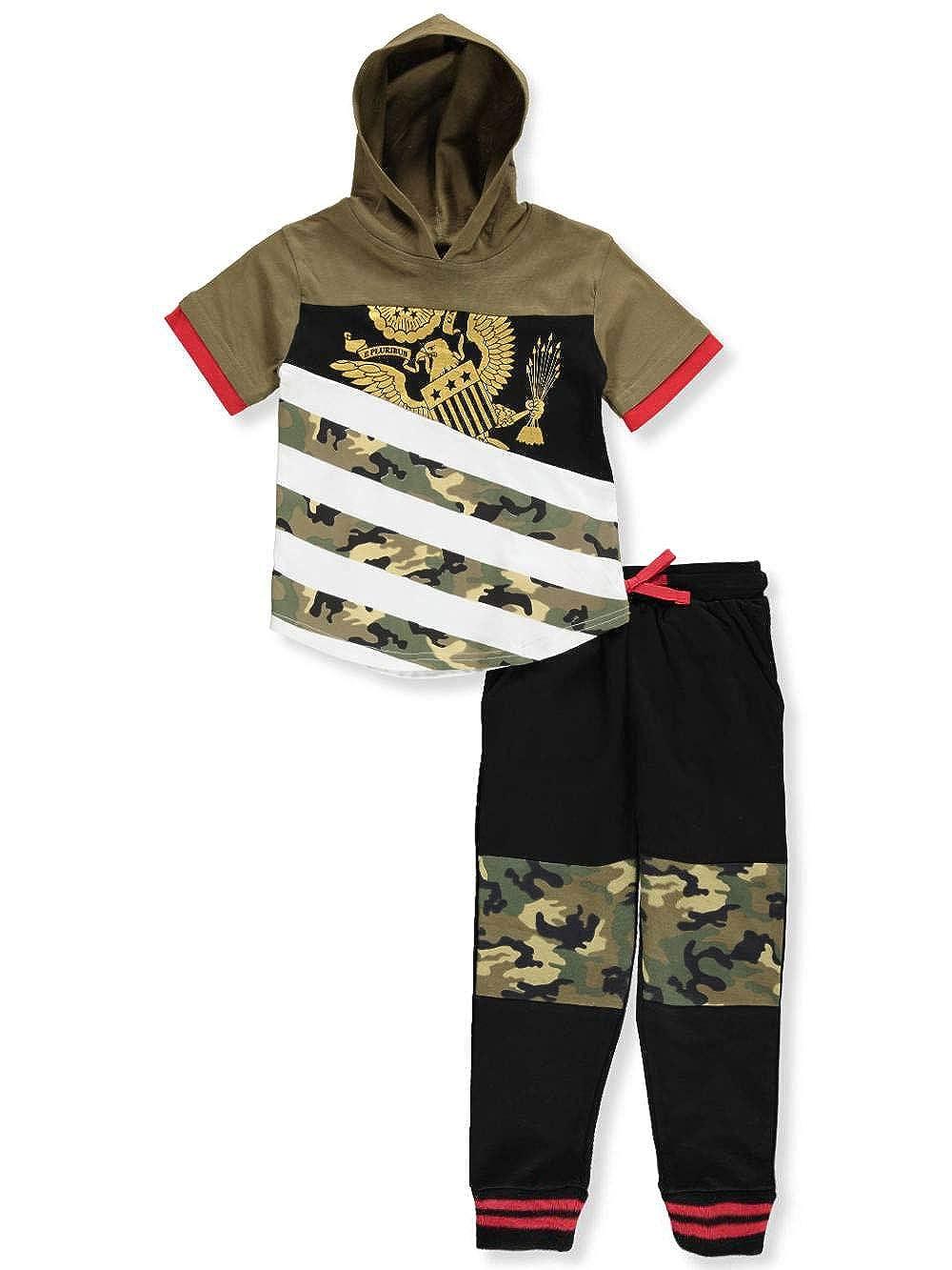 Quad Seven Boys' 2-Piece Pants Set Outfit