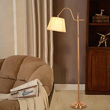 Klassische Stehleuchte Büro Schreibtisch Lampe Moderne Schlafzimmer  Stehleuchte Farbe Kupfer Richtung Einstellbare Haus Beleuchtung Haus U0026