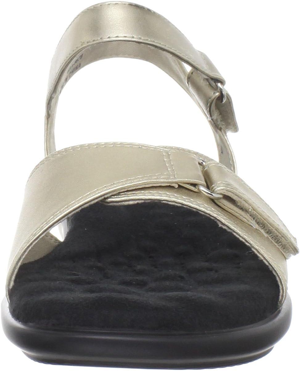 NEW Women/'s Walking Cradle Sky 2 Black Leather Comfortable Sandals