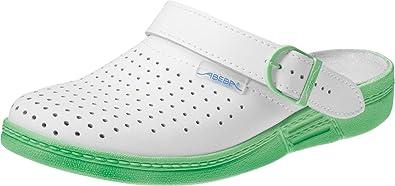 Arbeitsschuhe The Original von Abeba, 7090, 37, minz-green/white