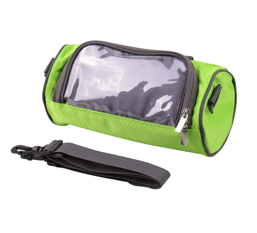 huici Bike Handlebar Bag with Phone Touch Screen Window Holder Personal Accessories Sling Bag,Water Resistant
