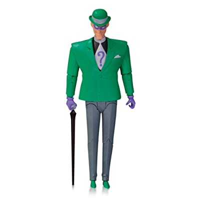 DC Collectibles Batman: The Animated Series: The Riddler Action Figure: Toys & Games