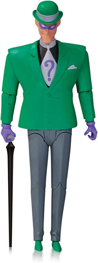 DC COLLECTIBLES BATMAN THE RIDDLER ACTION FIGURE NEW THE ANIMATED SERIES