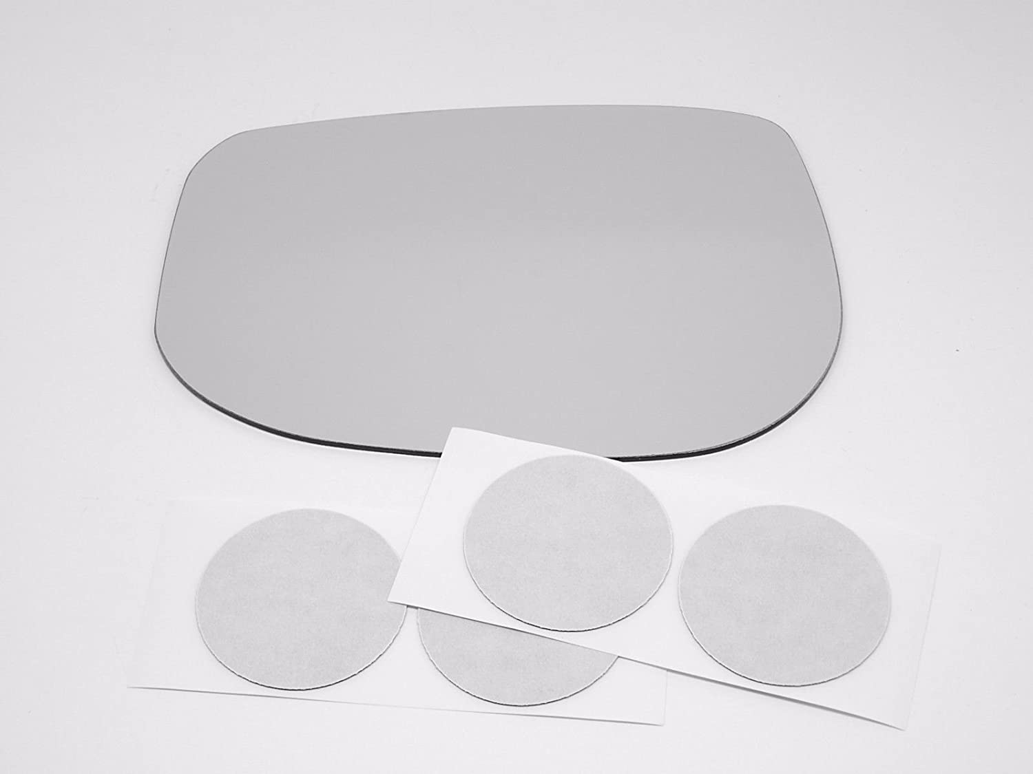 w// Adhesive      USA Fits 03-11 Element Left Driver Mirror Glass Lens Only