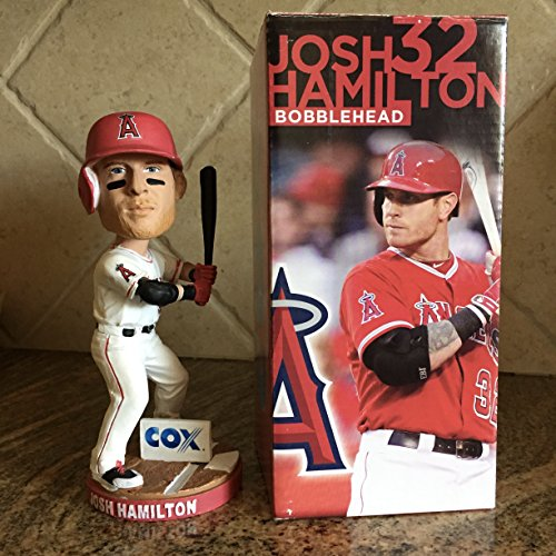 Josh Hamilton Angels Bobblehead 2014 Sga