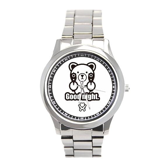 dodoband barato Relojes de pulsera. Juego acero inoxidable reloj hombres: Amazon.es: Relojes