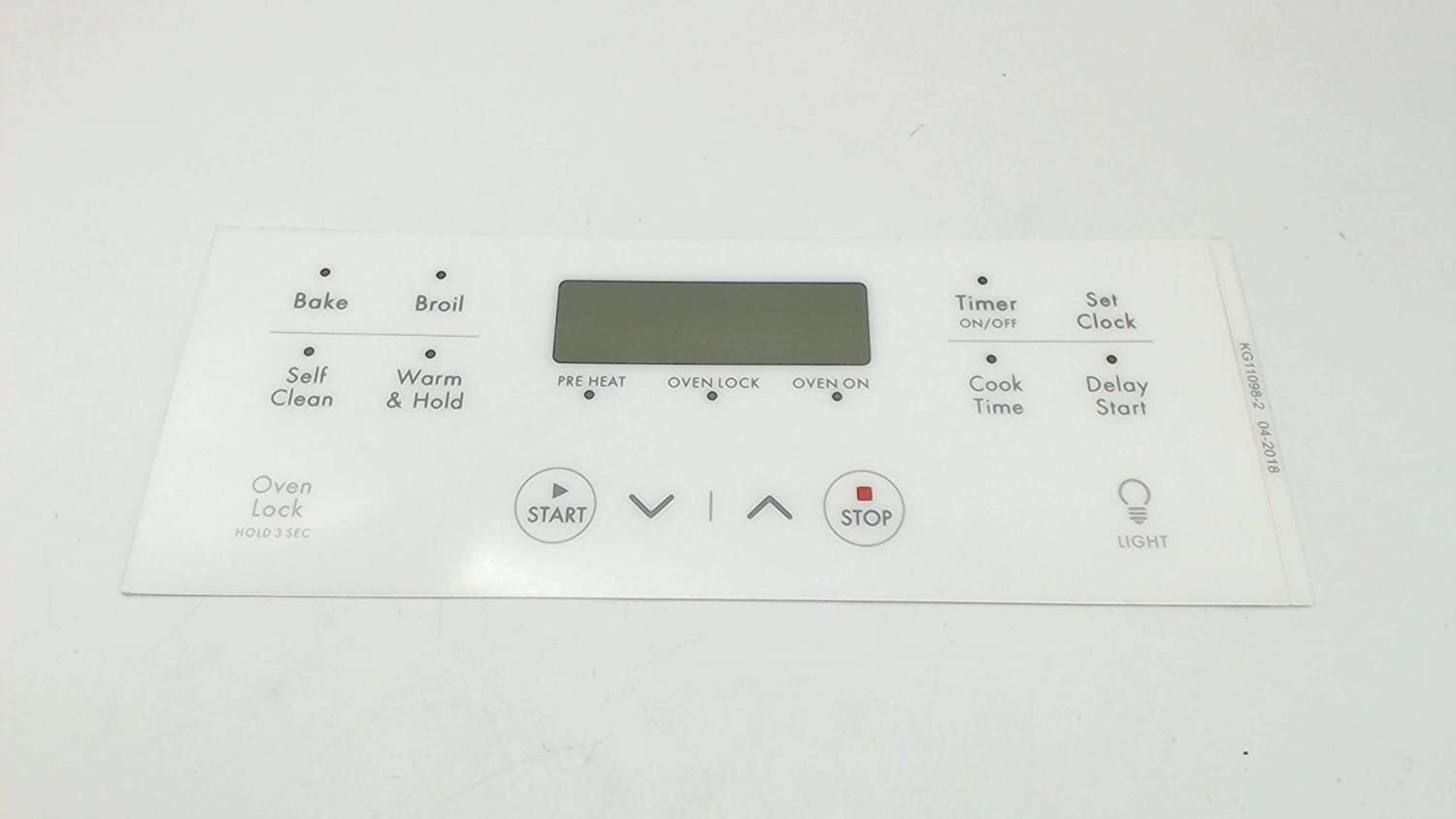 316633003 Overlay Compatible With Frigidaire Stove Oven Ranges